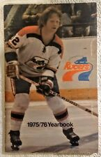 1975/76 Indianapolis Racers Yearbook