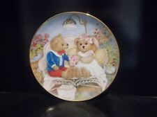 """Franklin Mint """"First Anniversary"""" by Patricia Brooks, Limited Edition Plate"""