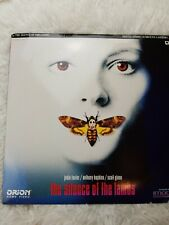 THE SILENCE OF THE LAMBS Laserdisc LD [ID7434OR]