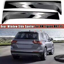 Spoiler per auto nero 2 pezzi//coppia di alettoni laterali per lunotto posteriore