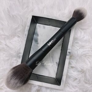 IT Cosmetics Airbrush Dual-Ended Absolute Powder Brush #133 *New with defects