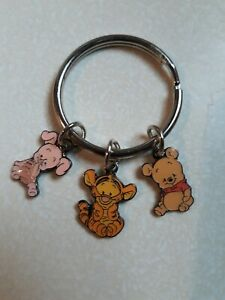 New Disney 3 Charm Young Winnie the Pooh Tigger And Piglet