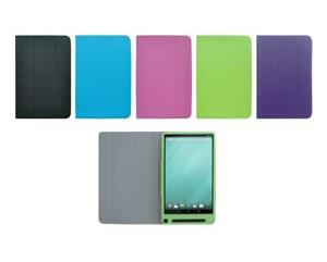 for Dell Venue 8 7000 / 7840 Tablet PU Leather Folding Folio Skin Cover Case