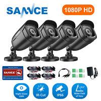 SANNCE HD 1080P TVI 3000TVL CCTV IR Night Vision for Home Security Camera System