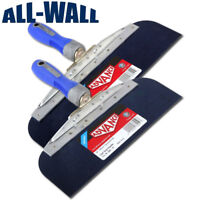 "Advance Drywall Offset Taping Knife 10"" & 12"" Blue Steel Finishing Knives Set"