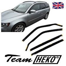DVO31232  VOLVO V50 5 DOOR ESTATE 2004-2008 WIND DEFLECTORS 4pc HEKO TINTED