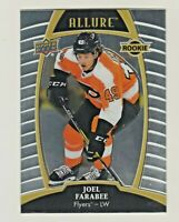 2019-20 Upper Deck Allure #62 JOEL FARABEE RC Rookie Flyers QTY AVAILABLE