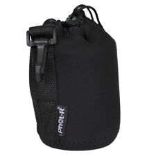 Phot-R Neoprene DSLR Camera Lens Soft Protector Carry Case Bag Pouch - Medium