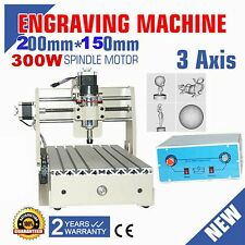 3 AXIS CNC ROUTER ENGRAVER ENGRAVING DRILLING MILLING MACHINE 3D CUTTER DESKTOP