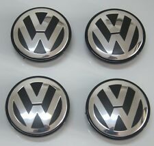 "4Pcs New Wheel Center Cap Hubcap Fits VW Touareg 03-10 3"" 77mm 7L6601149"