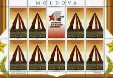 Moldova stamps! 65th Anniversary of the Victory in the WWII, MNH, 2010, 9v