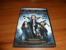 Snow White and the Huntsman (DVD,Widescreen 2012) Charlize Theron Used &