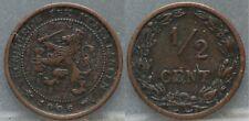 Nederland The Netherlands - 1/2 cent 1906 - halve cent 1906