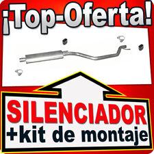 Silenciador Intermedio OPEL SIGNUM VECTRA C 1.8 122/140 03-08 Centro Escape UUJ