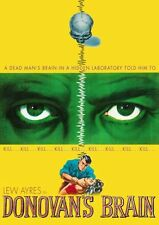 DONOVAN'S BRAIN - DVD - Region 1 - Sealed