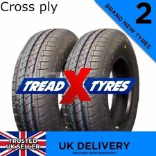 2x NEW 145/80B10 Cross Ply Two 145r10 145 80 10 Tyres Fitting Available x2
