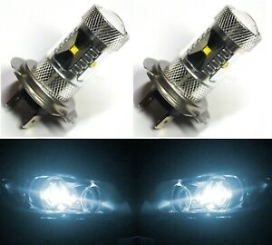 LED 30W H7 White 6000K Two Bulbs Head Light Low Beam Replacement Lamp OE