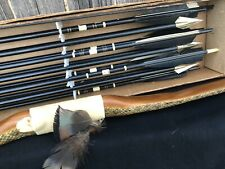 Longbow Self Bow Osage Orange w/Timber Rattler Covered Limbs 50#@26� ~78�&Arrows