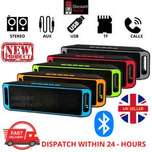 Bluetooth Speaker Wireless Mini Portable Stereo Speaker Extra Bass MUSIC