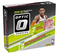 LIVE BREAK - 2019/20 DONRUSS OPTIC BASKETBALL FOTL HOBBY BOX - RANDOM TEAM