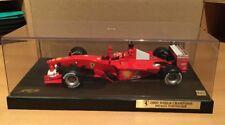 FERRARI F2000 F1 Michael SCHUMACHER 2000 World Champion Hot Wheels 1:18 (#5.19)