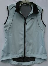 Louis Garneau polyester zip up cycling vest with mesh back women's size medium