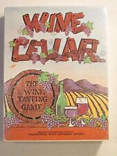 Vintage Wine Cellar Board Game * 1971 Social Interest Game * FREE SHIPPING!!