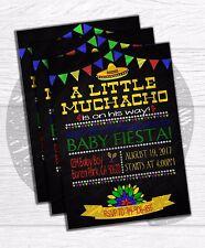 Digital Fiesta Baby Shower invitations, Party invite