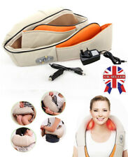 New Shiatsu Kneading Neck Shoulder With Heat Health Care Body Electric  Massager