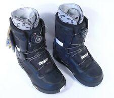 New Thirtytwo Snowboard Boots Kid Niu Boa Size 6 Euro 38 Black + Original Box