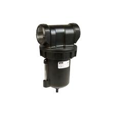 """Watts F602-12WJ Hi-Flow Air Filter, 1-1/2"""" Port, Manual Drain"""