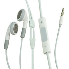 Earphone with Volume Adjustment and Micphone for iPhone /iPad/iPod-White