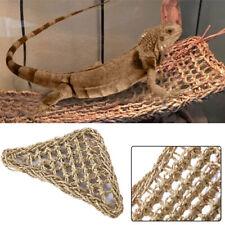 Lizard Lounger Hammock Braided Basking Platform DragonIguana Rat Reptile Mat