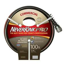 """3/4"""" Dia x 100' Crush Proof Kink Resistant Commercial Duty Garden Water Hose"""