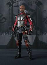 Suicide Squad Deadshot Actionfigur S.H.Figuarts Bandai ca.16cm Nuovo (L)
