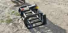 "NEW 48"" GRAPPLE FOR STANDARD SIZE SKID STEER, QUICK ATTACH, SINGLE CYLINDER"