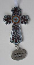 fd Find peace within MY GUIDING CROSS ORNAMENT ganz