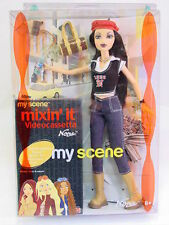 BARBIE MY SCENE - NOLEE' CON VIDEO CASSETTA VHS - BAMBOLE ORIGINALI MATTEL C3451