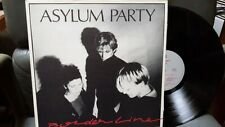Asylum Party – Borderline 33T LP EX++/NM Lively Art – ARTY 9