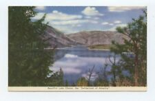 Beautiful Lake Chelan Washington Switzerland of America Postcard