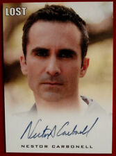 LOST - NESTOR CARBONELL - Richard Alpert - Autograph Card - Rittenhouse 2010
