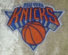 "New York NY Knicks 3.5"" Iron On Embroidered Patch~USA Seller~FREE Ship"