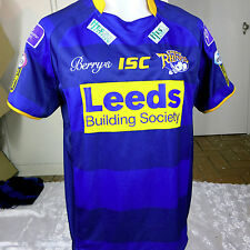 LEEDS RHINOS HOME JERSEY MENS SIZE L
