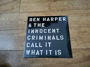 Ben Harper & the innocent criminals - call it what it is  UK vinyl LP record