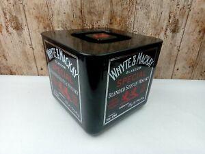 Vintage Ice Bucket Whyte & Mackay Bar Pub Mancave Scotch Whisky Supadry England