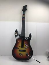 PS3 PlayStation 3 Guitar Hero Sunburst Red Octane Wireless Controller~ No Dongle