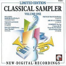 Various ‎– Classical Sampler Volume One Limited Edition CD (IMP Classics, 1987)