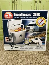 Igloo Iceless 28 Travel Cooler 12V Electric Thermoelectric - Brand New!