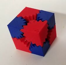 3D Printed Gear Cube - fine tooth