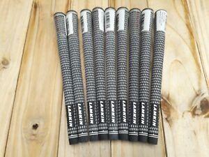 9  Genuine Lamkin Crossline golf grips. Standard  58 R.
